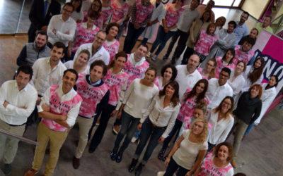 #súmatealrosa y sal a correr para luchar contra el cáncer de mama
