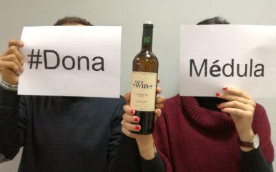 ¡Dona médula! y brinda con el vino sin alcohol Win por las vidas que puedes salvar