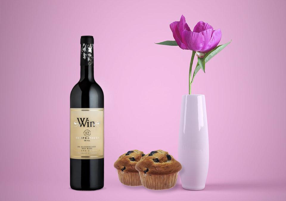 Postres y vinos sin alcohol que enamoran